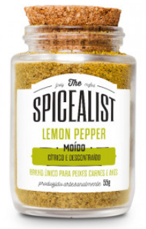 Lemon Pepper Moído 55g
