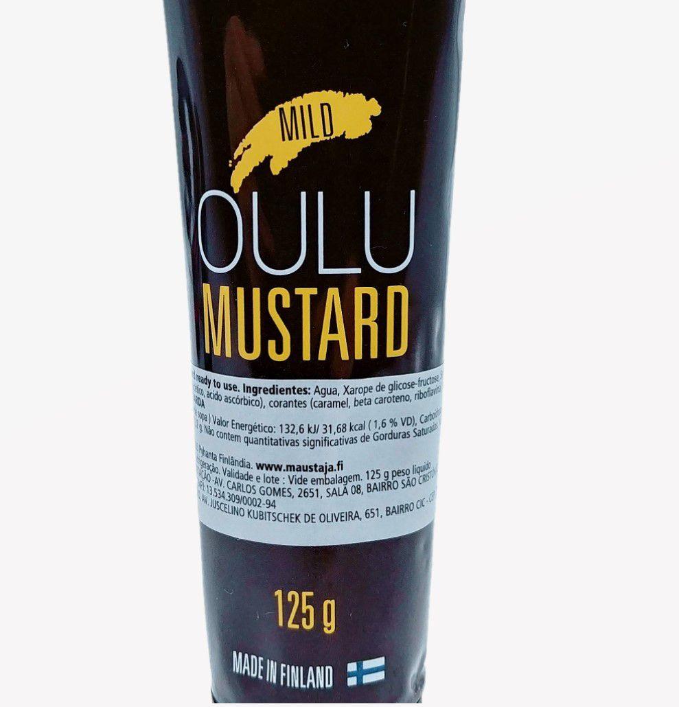 OULU MUSTARD 125GR - Mostarda Amarela - Made in Finland