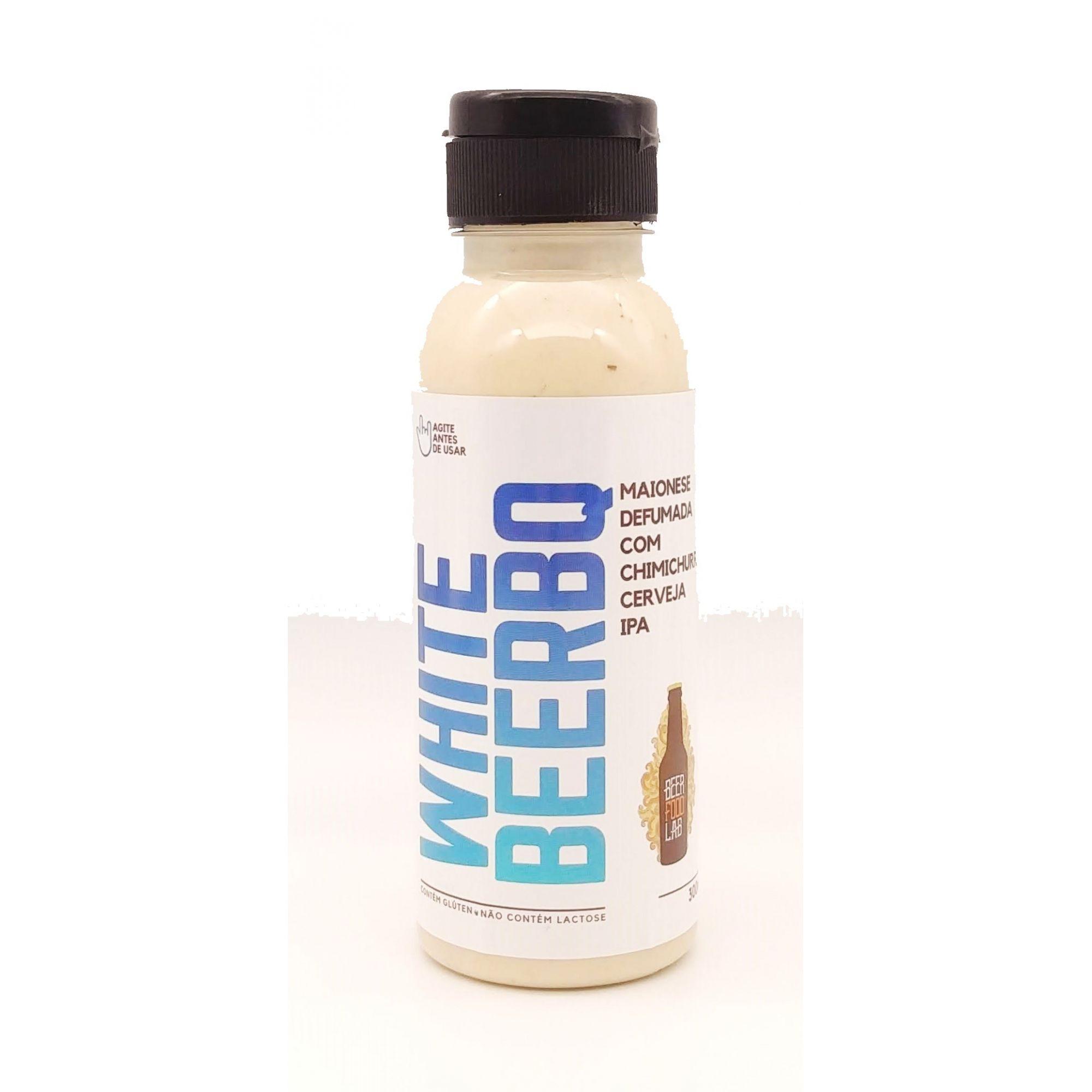 WHITE BEERBQ - Maionese Defumada com Chimichurri e Cerveja Ipa 300ml