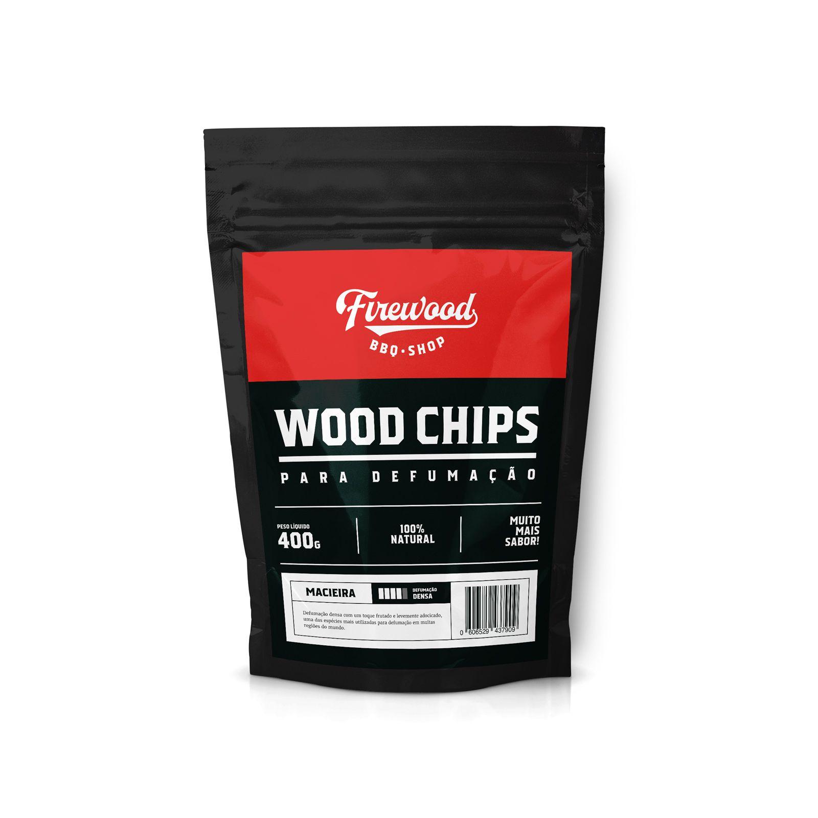 Wood Chips para Defumação - Macieira