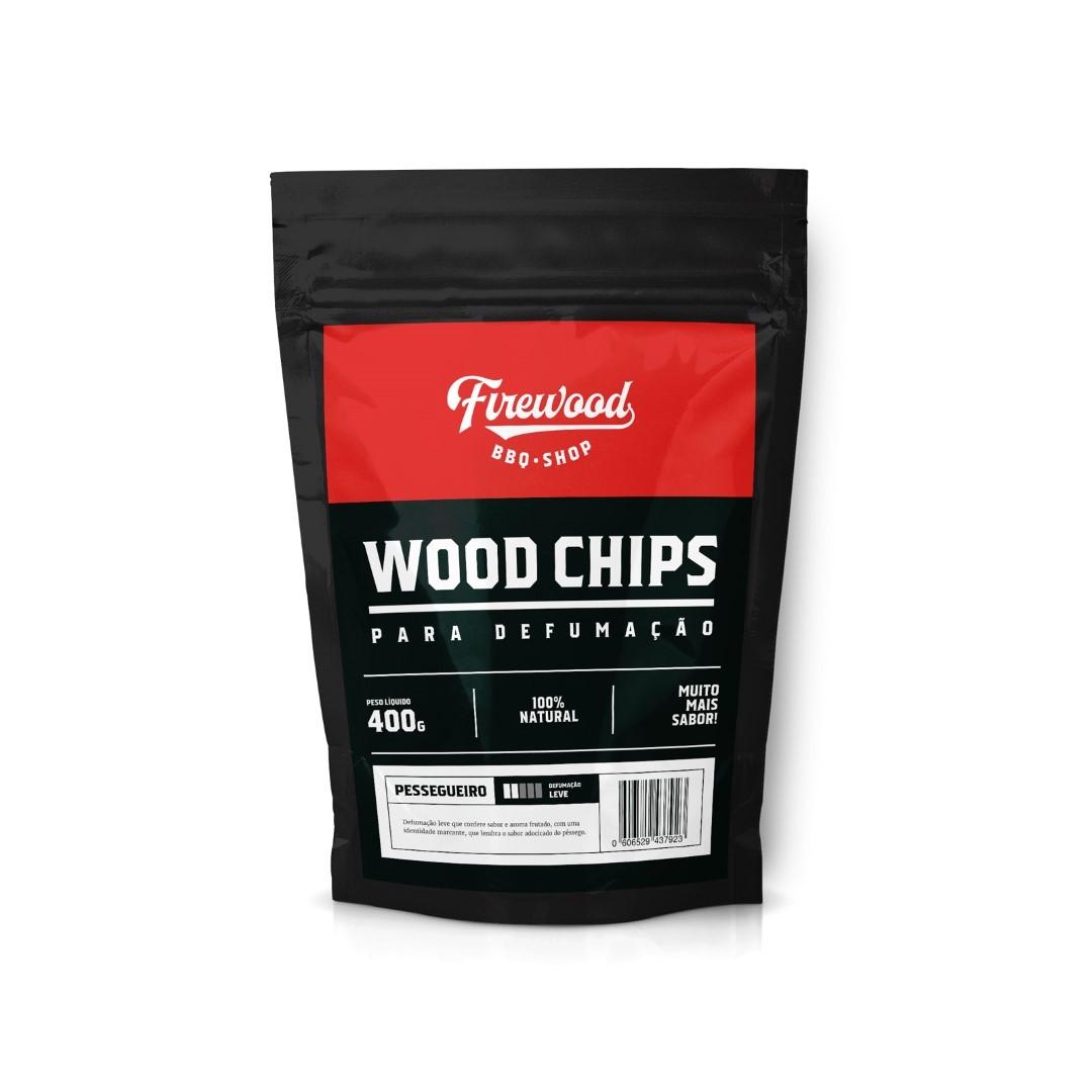 Wood Chip para Defumação - Pessegueiro