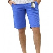 Bermuda Short Masculina de Sarja Plaque em várias Cores