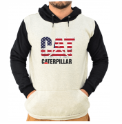 Blusa Moletom Canguru Unissex Bandeira do USA