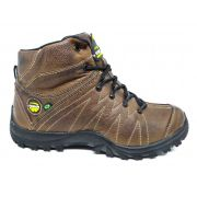 Coturno Adventure Masculino Tchwm Shoes Couro Floter - Marrom