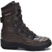 Bota Coturno Tático Militar com Zíper Atron Shoes 289 - Café