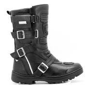 Bota Motociclista Roqueira Atron Shoes 296 - Preto