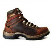 Bota Caterpillar Masculina Boots 806 Couro Sela Ferrugem