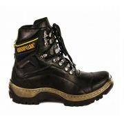 Bota Masculina Work Boot R29 Couro - Black