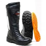Coturno Atron Shoes 276 Couro Legitimo Florestal Federal