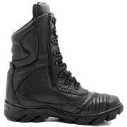 Coturno Tático Militar com Zíper Atron Shoes 292 - Preto