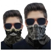 Ki 2 Mascara Proteção Uv Termica Respiravel Lavável Pesca