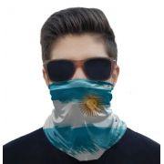 Máscara Bandana Bandeiras Proteção Solar UV25+ Pesca Ciclismo Motociclista