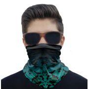 Máscara Bandana Camuflado Proteção Solar UV25+ Pesca Ciclismo Motociclista
