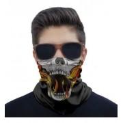 Mascara Bandana Para Motociclista Ciclista Estampa Caveiras