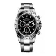 Relógio Cosmograph Daytona Luxo Importado Preto/Cinza