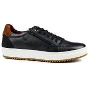 Sapatênis Masculino Casual Tchwm Shoes Confort Zíper 4051 Couro - Cores