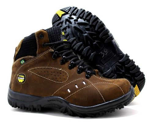 Coturno Boots Adventure Masculino Tchwm Shoes Couro - Cores
