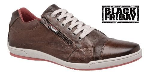 Sapatênis Estilo Tchwm Shoes  12.020 Couro