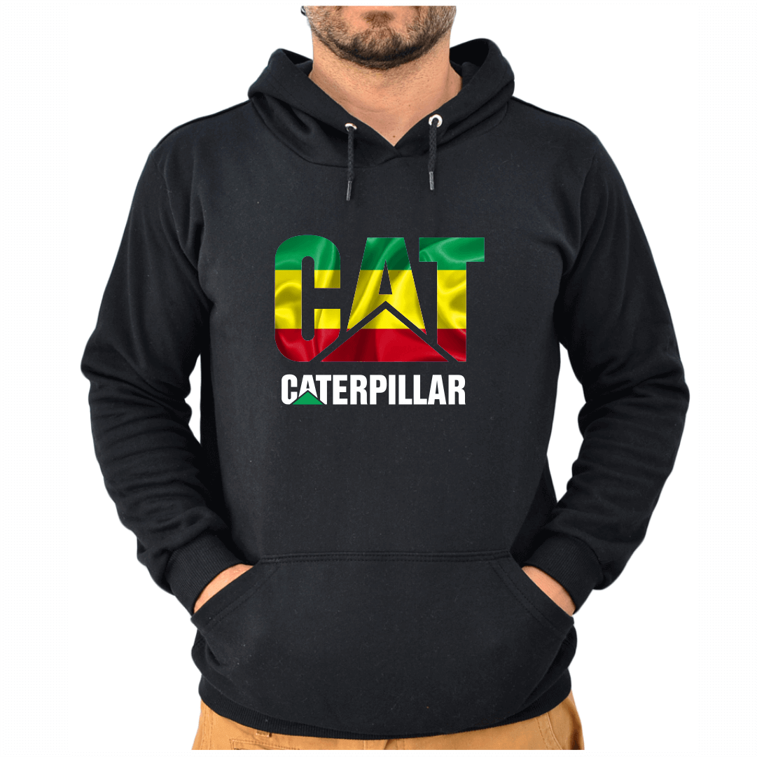 Blusa Moletom Canguru Unissex Bandeira da Jamaica Reggae