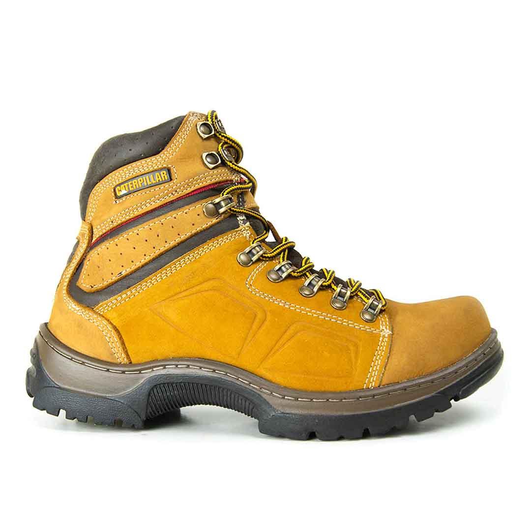 Bota Masculina Thunder Boots 806 Couro - Milho