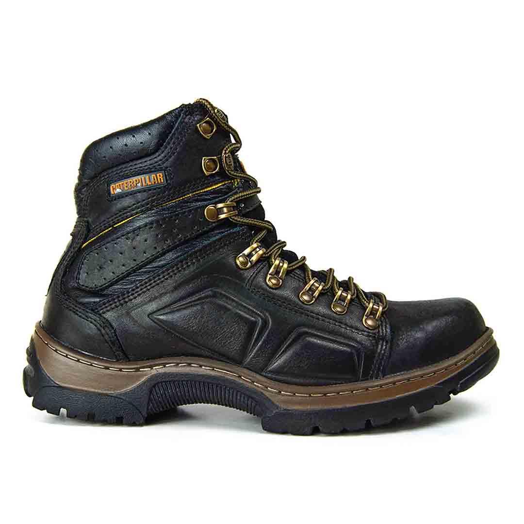 Bota Masculina Thunder Boots 806 Couro- Preto