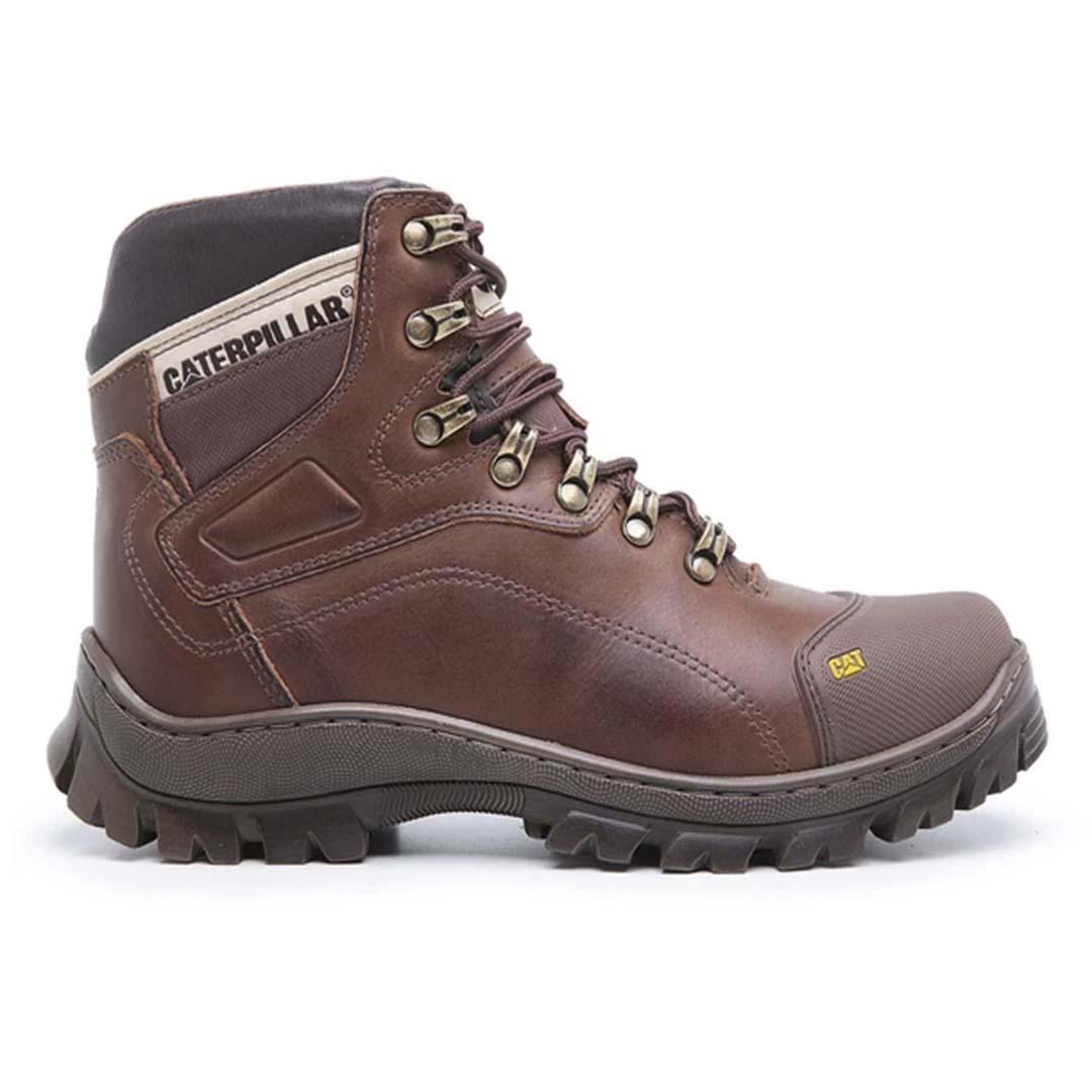 Bota Work Boot 9820 Masculina Desert Segurança Couro- Chocolate