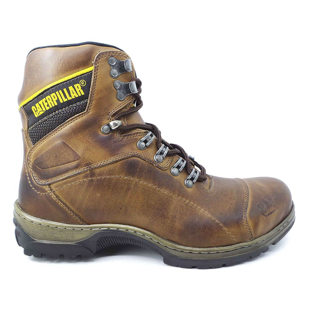 Bota Masculina Work Boot R29 Couro - Brown