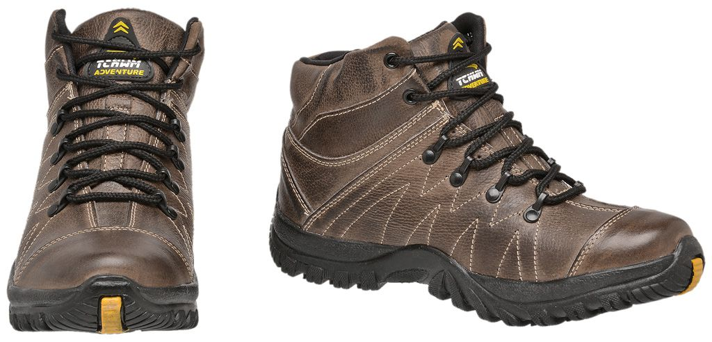 Coturno Adventure Masculino Tchwm Shoes Couro Floter - Marrom c42c32acf4