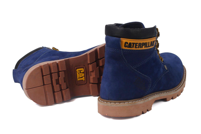 2e00c9c03 Bota Coturno Caterpillar Second Shift Couro - Blue