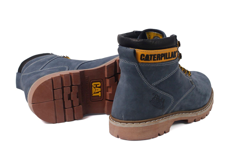 ce8c55337 Bota Coturno Caterpillar Second Shift Couro - Grey