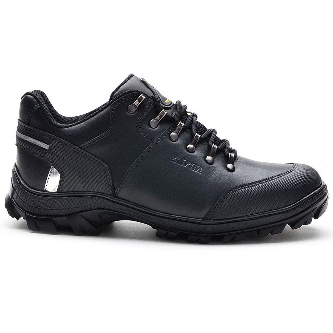 Bota Coturno Militar Cano Baixo Atron Shoes 269 - Preto