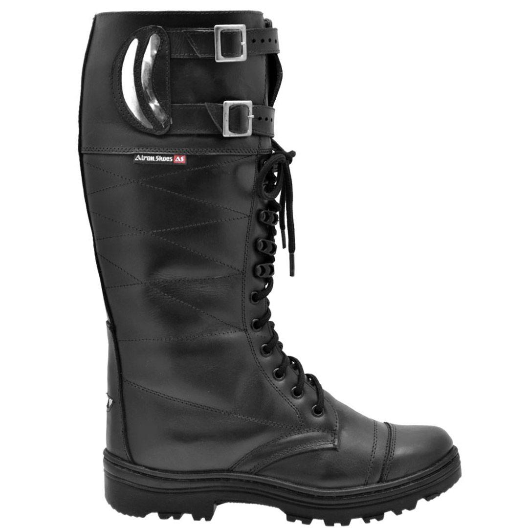 Bota Coturno Militar Rodoviário Atron Shoes 294 - Preto