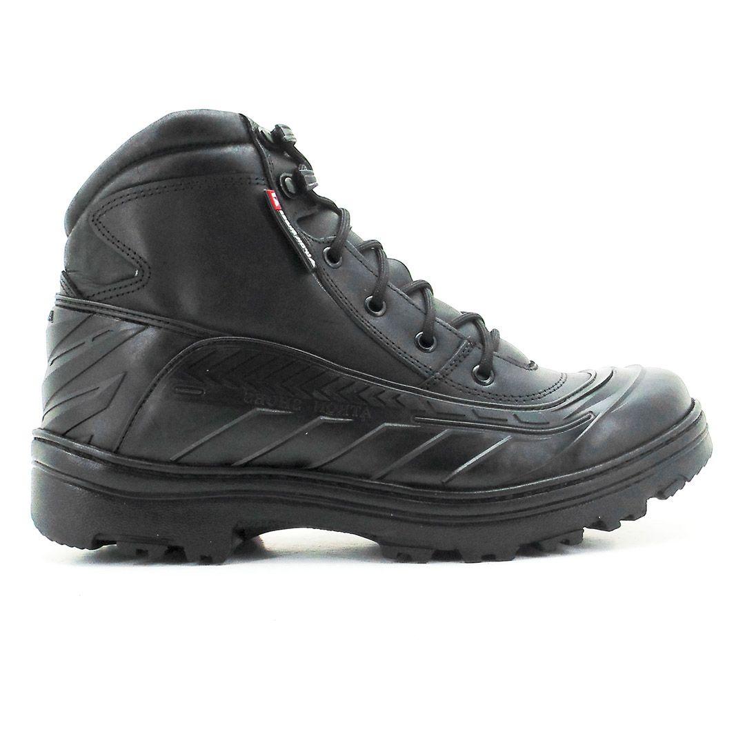 Bota Coturno Tático Militar Cano Baixo Atron Shoes 286 - Preto