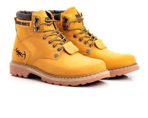Bota Masculina Second Shift Tradicional 850 Jhon Boots Couro - Cores