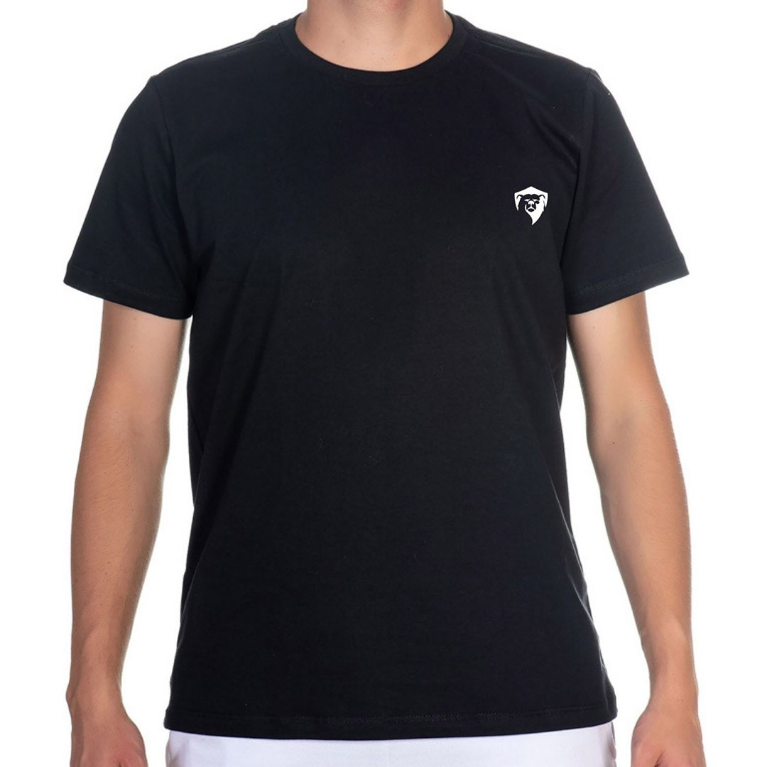 Camiseta T-Shirt Masculina Estampa Urso Kayller 100% Algodão
