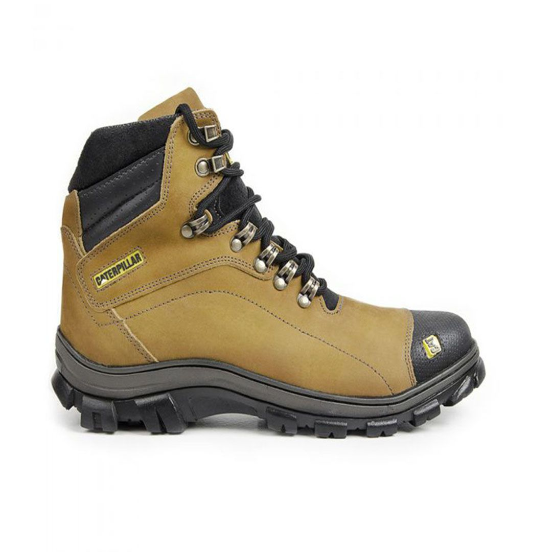 Bota Masculina Work Adventure Couro - Yellow