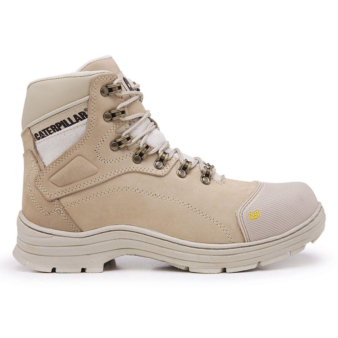 Bota Masculina Work Boot Desert 9820 Couro - Nude