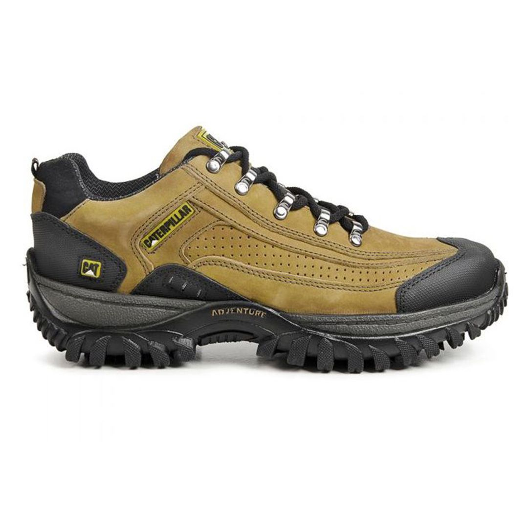 Tênis Masculina Adventure 2086 Couro - Yellow