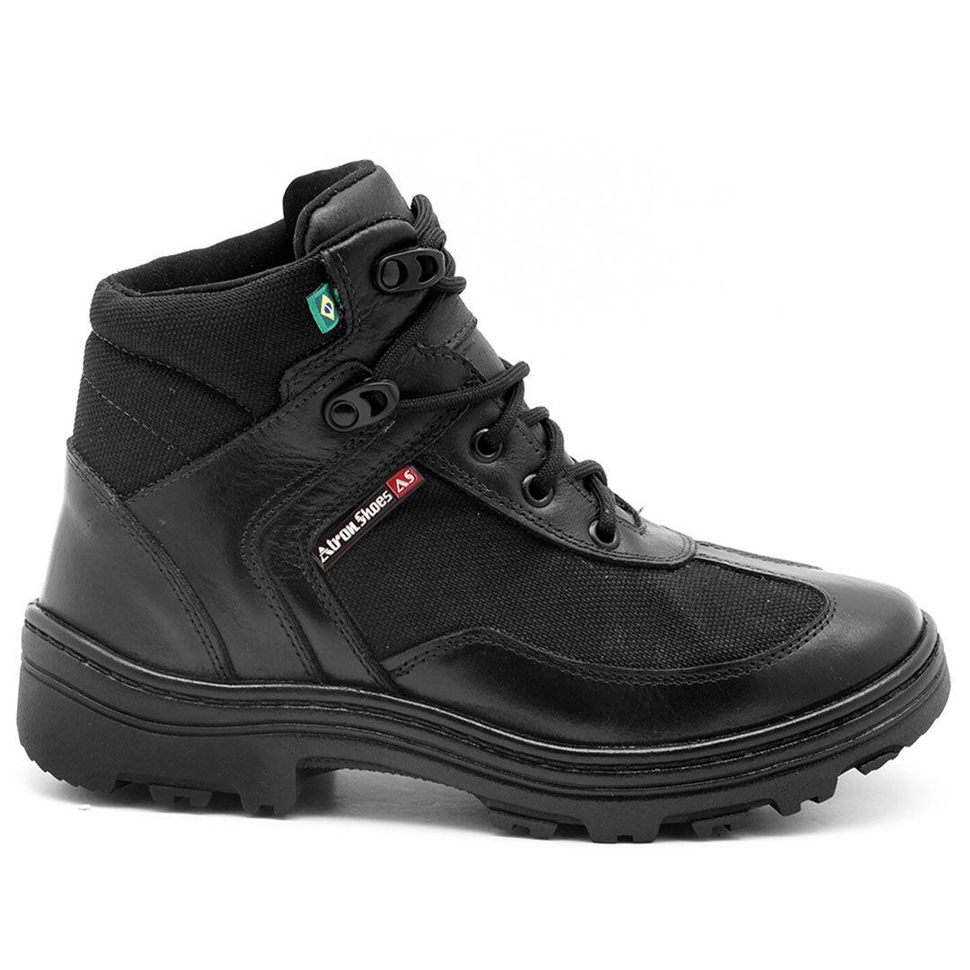 Coturno Militar BPM Atron Shoes 291- Preto