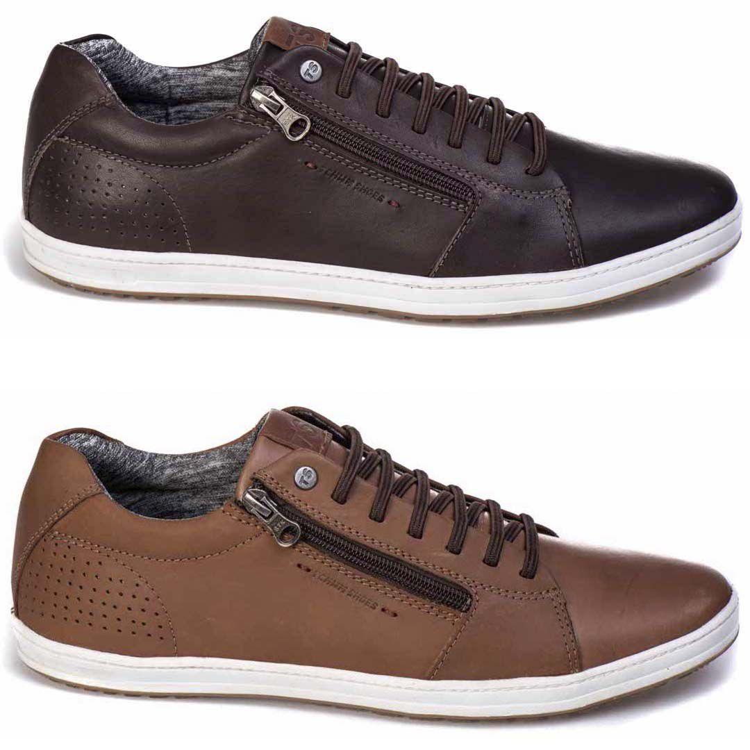 Kit Combo 2 Sapatenis Tchwm Shoes Com Zíper