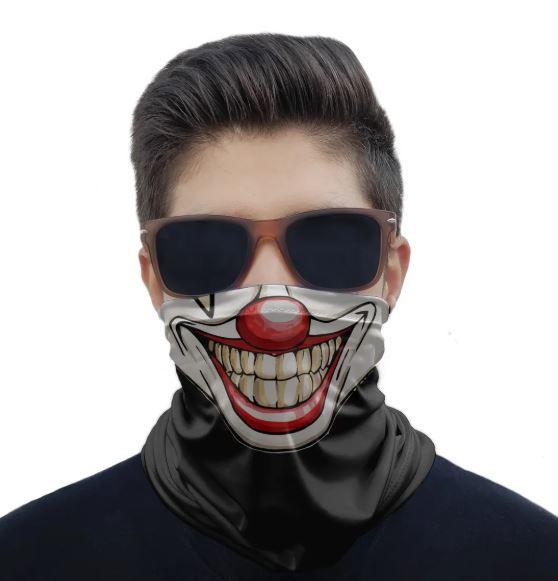 Máscara Bandana Bocas Proteção Solar UV25+ Pesca Ciclismo Motociclista