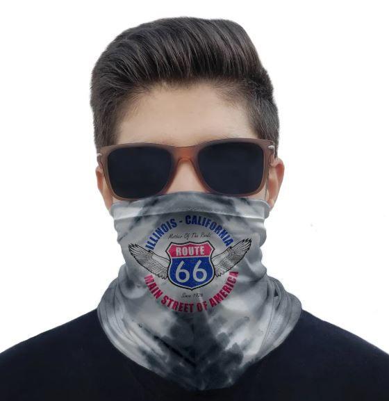 Máscara Bandana Estampas Proteção Solar UV25+ Pesca Ciclismo Motociclista