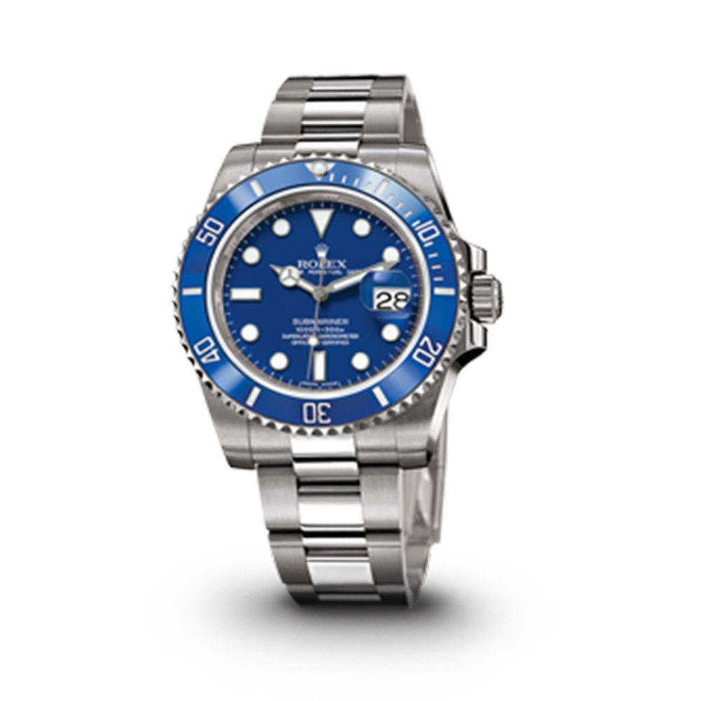 435d2c0b245 Relógio Submariner Luxo Importado - Azul