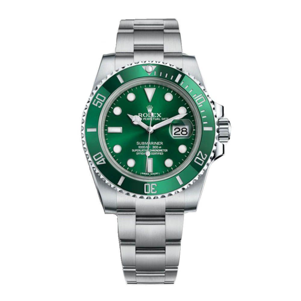 Relógio Submariner Luxo Importado - Verde