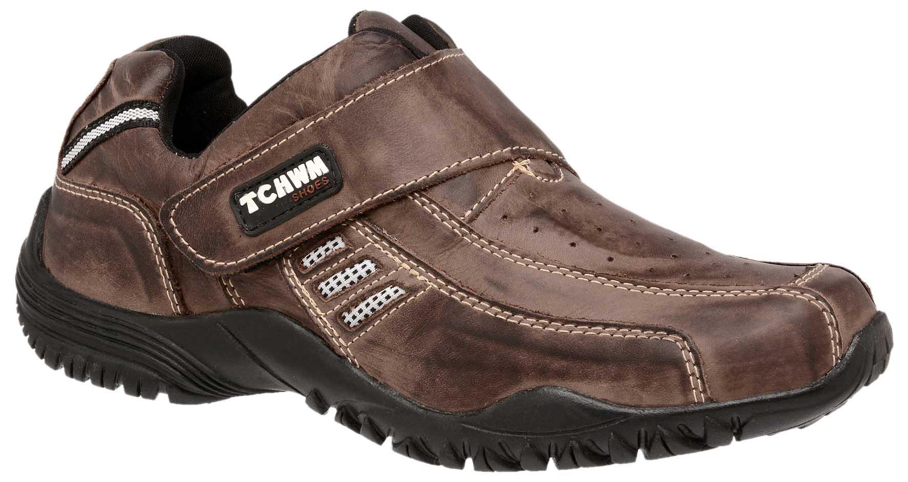 2d4f29387c Sapatênis Masculino Tchwm Shoes Couro - Marrom