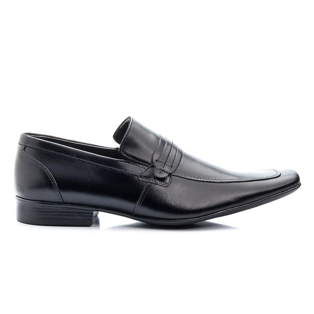 Sapato Social Bigioni Clássico em Couro  - Preto