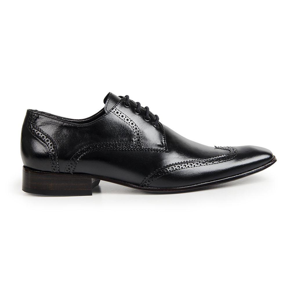 Sapato Social Oxford Bigioni Masculino Couro Liso