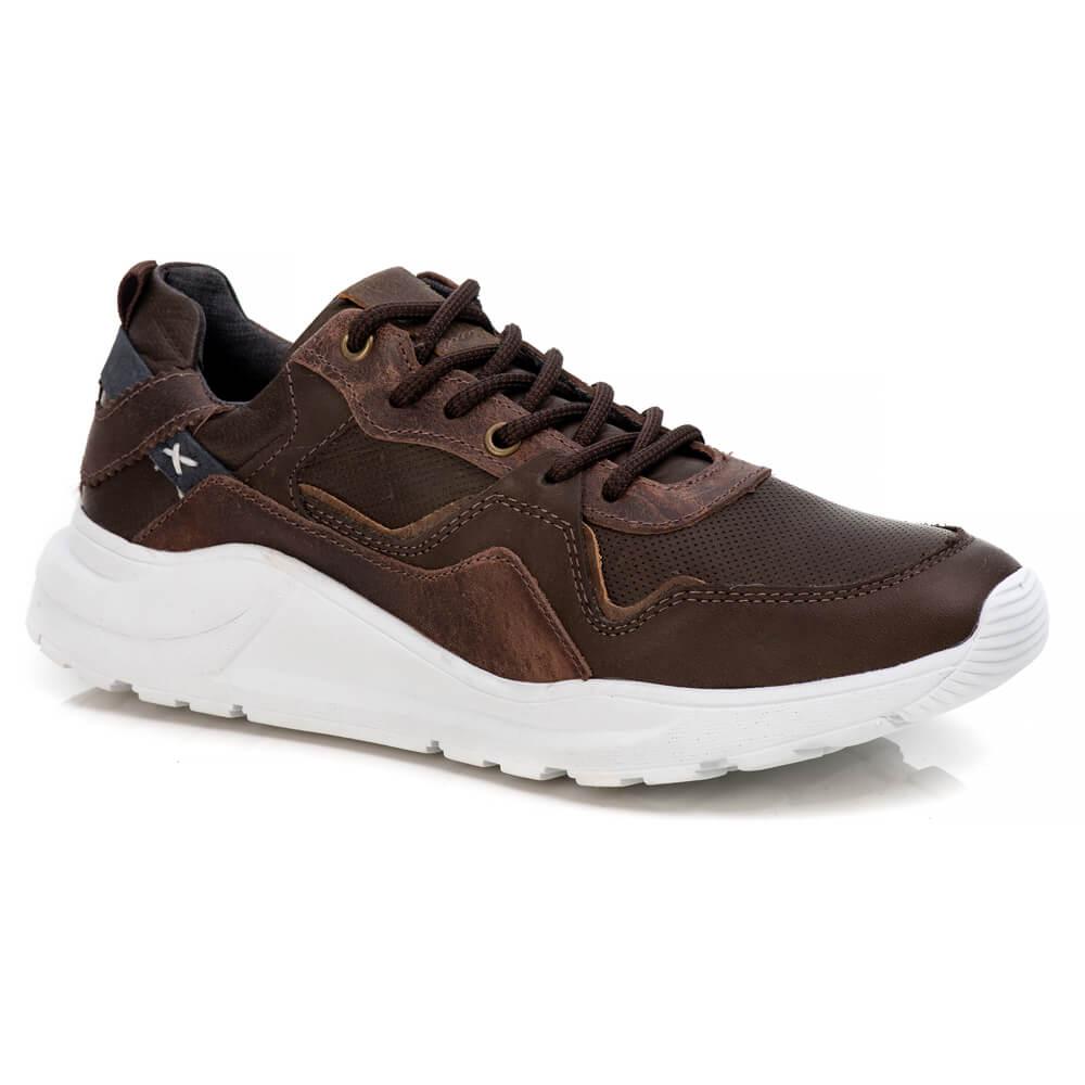 Tênis Tchwm Shoes Masculino Jogging Premium Couro
