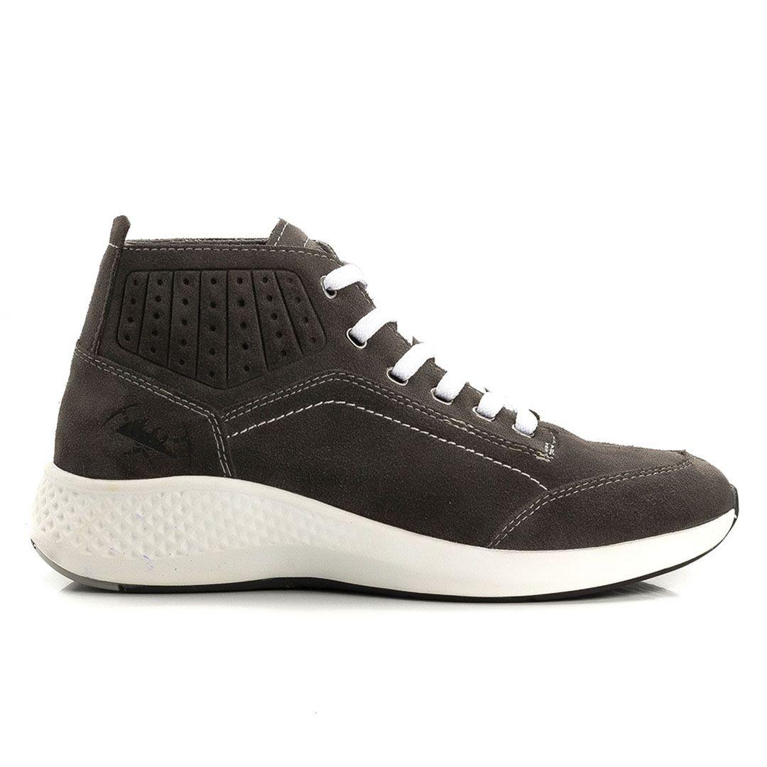 ea31baf34 Tênis Jhon Boots Yeezy Sneakers Couro - Cinza