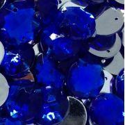 Chaton Costura Redondo Azul Escuro 6mm a 16mm